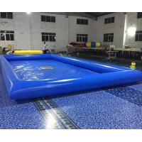 Quality Double Stitching Above Ground Swimming Pools With Repair Kits For Parks wholesale