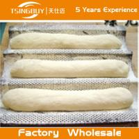 Factory wholesale bread baking aluminum sheet-ovenable bake trays-on-stick french baguettes baking tray