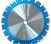 China Laser welded dry cutting continuous rim diamond blade for marble, granite on sale