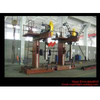 Quality L Shape Column And Boom H Beam Welding Machine for H Beam Welding Line 15m Rail wholesale