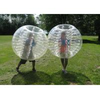 Quality Inflatable Bubble Soccer Ball Fashionable Buper Ball sports entertainment football inflatable body zorb ball wholesale
