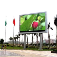China LED Billboards P6 P8 P10 outdoor LED Display Screen LED full Color High definition RGB HD fixed led display on sale
