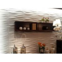 Quality Indoor Wall Panels 3D Decorative Wall Panels 3d Wave Board for KTV / Bar Background wholesale