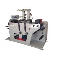 Quality Rotary die cutting machine max width 320mm and with slitting rewinding function or sheeting wholesale