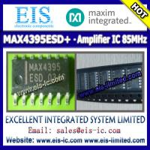 Quality MAX4395ESD+ - MAXIM - IC OP AMP 85MHZ R-R 14-SOIC - sales009@eis-ic.com wholesale