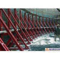 China Retaining wall concrete formwork with Single-side bracket on sale