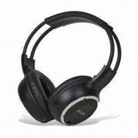 Quality Infrared In-car Wireless Headphones, Compatible with All in-vehicle AV Applications wholesale