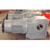 Quality K Series Helical Bevel Gear Reducer With Motor for sugar cane wholesale