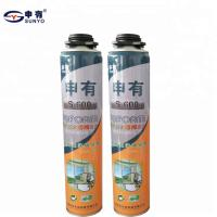 China 750ml Fire Retardant Insulating Foam Sealant For Door And Window Frames Fixing on sale