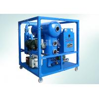 PLC Control Switch Transformer Oil Centrifuging Machine , Oil Filtration Equipment