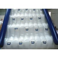 Quality Inflatable Water Park Games / Water Slides , tarpaulin Pool Slides wholesale