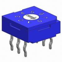 Buy cheap Rotary Coded Switch, 3 to 3-pin from wholesalers