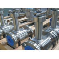 Cheap Flanged Ends Floating Type Ball Valve , Electric Actuated Ball Valve for sale