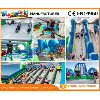 Quality Custom Inflatable Rent Obstacle Course Fireproof Material For Amusement Park wholesale
