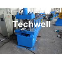 Quality Automatic Steel Guide Rail Cold Roll Forming Machine for Making Security Door Guide Tracks wholesale