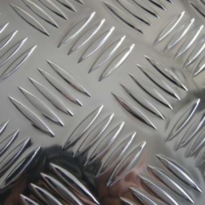 Cheap 5 Bar Alloy Aluminium Checker Plate Aluminum Tread Plate Embossed Sheet 5000 for sale