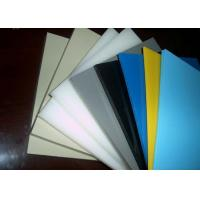 Buy cheap Smooth Or Sand Surface Blue Colored Plastic Sheet For Chemical Industry Light from wholesalers