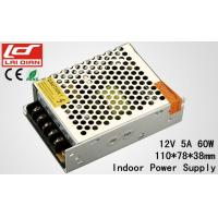 Quality Aluminum Shell LED Lighting Power Supply Rated Voltage 12V 5A Low Power Circuits wholesale