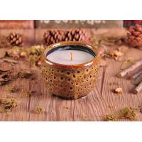 Quality ASTM Test Passed Amber Glazed Ceramic Candle Holder with low MOQ wholesale