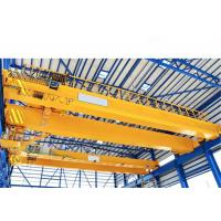 Quality 20t Double Girder Overhead Crane with 20m Span in Yellow A5 working duty wholesale