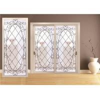 Quality Double Pane Sliding Glass DoorHollow Stained Glass Panels Air / Argon Insulating wholesale
