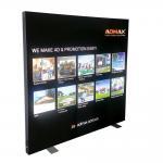 Quality Advertising LED Light Box Backlit Frameless Led Fabric Light Reinforced Struction wholesale