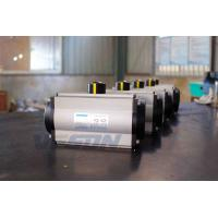 China Spring Return Pneumatic Rack And Pinion Actuator For Dampers 0.25 -0.8 Mpa on sale