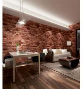 Quality Contemporary economical waterpoof  3D brick foam Vinyl Wallpaper wholesale