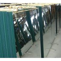 Quality Large sheet glass mirror panels / bathroom , household silver mirror wholesale