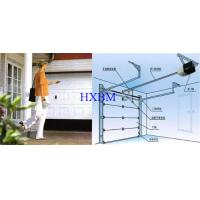 China Powder Color Coated Modern Garage Doors , Electric Up And down Garage Doors on sale