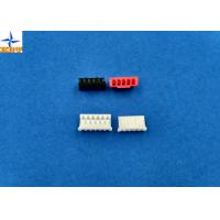 Quality Single Row Board To Wire Connectors Pitch 2.00mm PA66 Housing With Lock Top Entry Type Connector wholesale