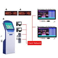 Quality High Quality Arabic Multilingual Wireless LCD Counter Display EQMS Electronic Queue Management Systems Solution For Bank wholesale