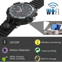 Y31 16GB 720P WIFI IP Spy Watch Hidden Camera Recorder IR Night Vision Home Security Wireless Remote Video Monitoring