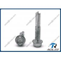 Quality Ruspert Plated Stainless 410 Hex Washer Head Self Drilling Screw for Heavy Duty Steel Structure wholesale