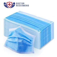 Quality Protective Non Sterile Breathable 3 Layer Face Mask wholesale