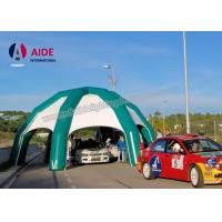 Quality Outdoor Inflatable Car Garage tent , Advertising Inflatable Sports Tunnel wholesale