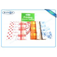 Quality Full Range Color Customized Printing Patern PP Non Woven Fabric for Tablecloth wholesale