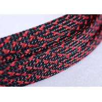 Quality Wear Resistant Expandable Braided Polyester Sleeving For Cable Harness Cover wholesale