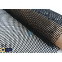 Quality 260℃ PTFE Coated Fiberglass Fabric Black 4x4 Industrial Conveyor Belt Roll wholesale