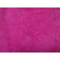 Quality Red colorful warp terry cloth 50*60 textile microfiber household cleaning towel wholesale