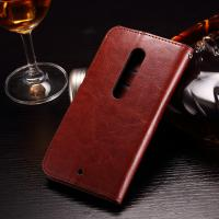 Quality Colored Moto X Play Leather Case , PU Leather Motorola Protective Case wholesale