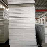 Quality 50mm 75mm sound insulation eps sandwich panel 11900x1150mm for prefabricated house wholesale