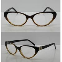 Cheap Promotional Retro Oval Acetate Optical Frames For Lady 52-16-138mm for sale