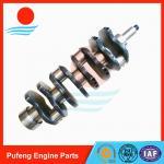 Quality ISUZU Motor Wagon/Truck 4BA1 Diesel Engine Crankshaft wholesale