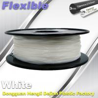 Quality Red Flexible 3d Printer Filament materials in 3d printing 1.75 / 3.0 mm 0.8KG / Roll wholesale