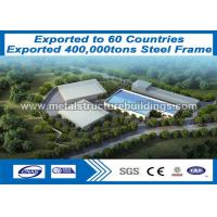 China Rust Proof  Prefabricated Steel Structures Light Gauge Steel Formed Building on sale