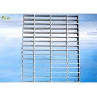 China Galvanized Steel Non-Slip Stair Treads Catwalk Twisted Cross Drian Treads on sale