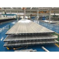 Quality 4.2M 6063 T6 Aluminium Extruded Profiles 16.8MM Wall Thickness Used As Subway Train'S Side Wall wholesale