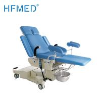 Quality Electrical Hydraulic Examination Bed Alluminium Alloy Adjustable Hospital Beds Blue Color wholesale