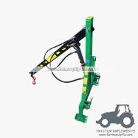 3 Point Tractor Crane : Ec tractor mounted point engine crane rear hoist